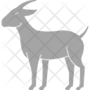 Goat Horn Animal Icon
