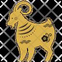 Goat Zodicc Sign Chinese Zodics Icon