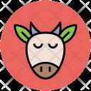 Goat Face Animal Icon