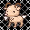 Goat Animal Wild Icon