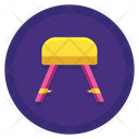 Goat Gymnastics Exercise Ball Game Icon