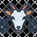 Goat In Pen Goat Pen Icon