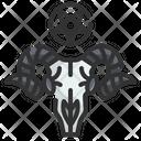 Goat Skull Icon