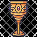 Goblet Medieval Antique Icon