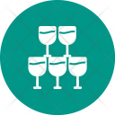 Goblets Drink Glass Icon