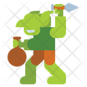 Goblin Creature Halloween Icon