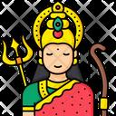 Goddess Durga Icon