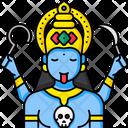 Goddess Kali Icon
