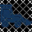 Bulldozer Bulldozer Vehicle Caterpillar Icon