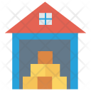 Warehouse Store Delivery Icon