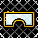 Goggle Eyeglass Safety Icon