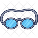 Swimming Glass Icon