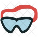 Goggles Sports Swimmer Icon