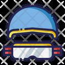 Goggles helmet Icon