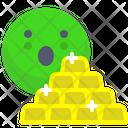 Gold Gold Brick Brick Icon