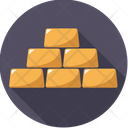 Gold Bullions Icon