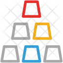 Gold Bar Stack Icon