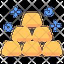 Gold Finance Money Icon
