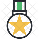 Gold Medal Star Icon