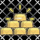 Gold Golden Pirates Gold Icon