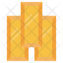 Gold Gold Ingots Business And Finance Icon