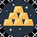 Gold Reserve Ingots Icon