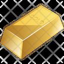 Gold Finance Bar Icon