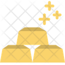 Gold Shiny Finance Icon