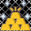 Gold Bars Icon