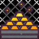 Gold Bars Gold Bricks Gold Icon