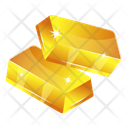 Asset Gold Gold Bars Icon