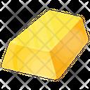 Gold Brick Wealth Icon