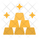Gold Gold Bar Gold Ingot Icon