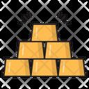 Ingot Brick Gold Icon