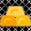 Gold Brick Gold Bar Gold Bricks Icon