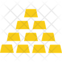Gold Bricks Icon