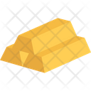 Gold Bullion Gold Ingots Gold Bricks Icon