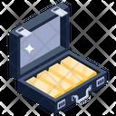 Billion Case Gold Case Gold Handbag Icon