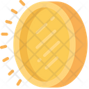 Gold Coin Elements Icon