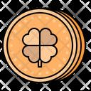 Gold Coin Money Treasure Icon