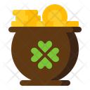 I Gold Pot Gold Coins Gold Pot Icon