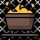 Gold Conveyor Icon