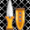 Gold Dagger Gold Dagger Gold Jambiya Icon