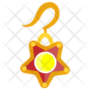 Gold Earring Icon