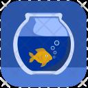Gold Aquarium Home Icon