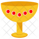 Gold Goblet Solid Gold Gold Treasure Icon