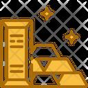 Gold Ingots Gold Bricks Gold Icon