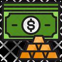 Gold Money Dollar Icon