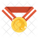 Gold Medal Achievement Award Icon