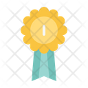 Gold Medal Award Trophy Icon